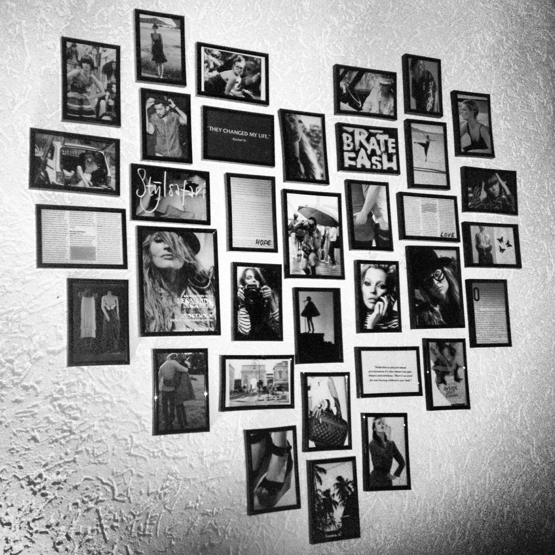 Fotolijstjes in de vorm van een hart for Ontwerp je eigen kamer