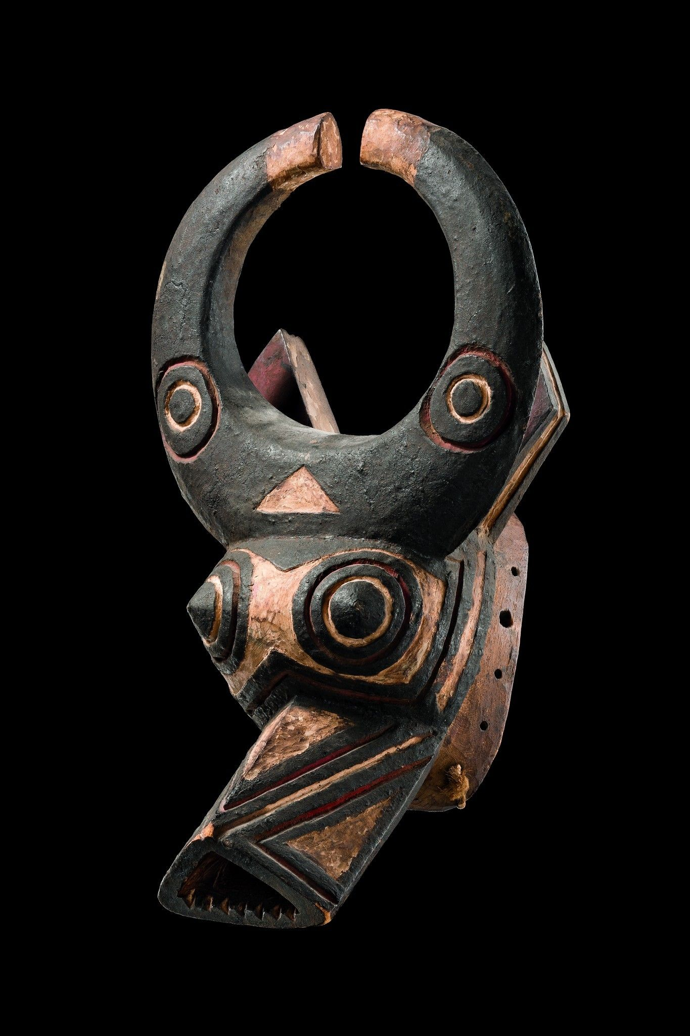 Buffalo mask Burkina Faso, Bwa