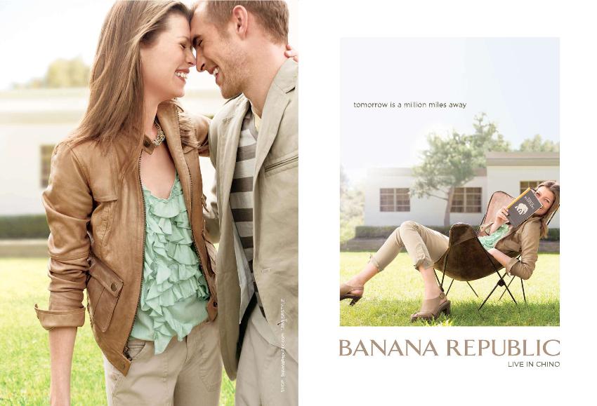 Banana Republic Ad Luxury advertising, Fashion