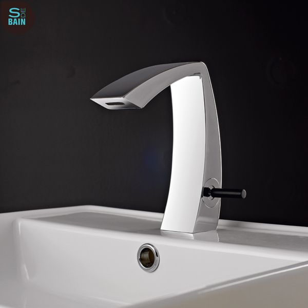Mitigeur pour lavabo  poser de la collection ARCHE imaginée par