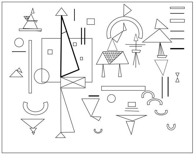 L 39 Arte Di Kandinsky Spiegata Ai Bambini Artistica Kandinsky Attivita Di Arte Per Bambini Arte Di Bambino