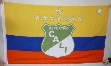 Deportivo Cali Logo | Bandera del Deportivo Cali con los colres de Colombia hecha en ...
