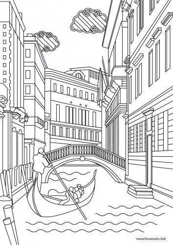 The Best Free Adult Coloring Book Pages Line Artwork Venice