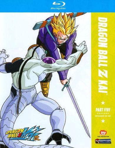 dragonball z kai part five 2 discs blu ray products