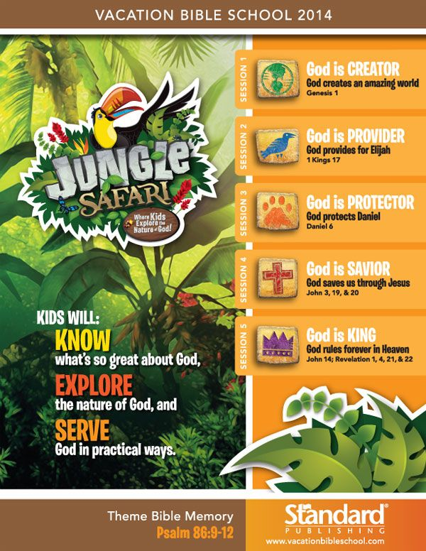 Jungle Safari VBS - Help your kids discover the nature of God  Learn