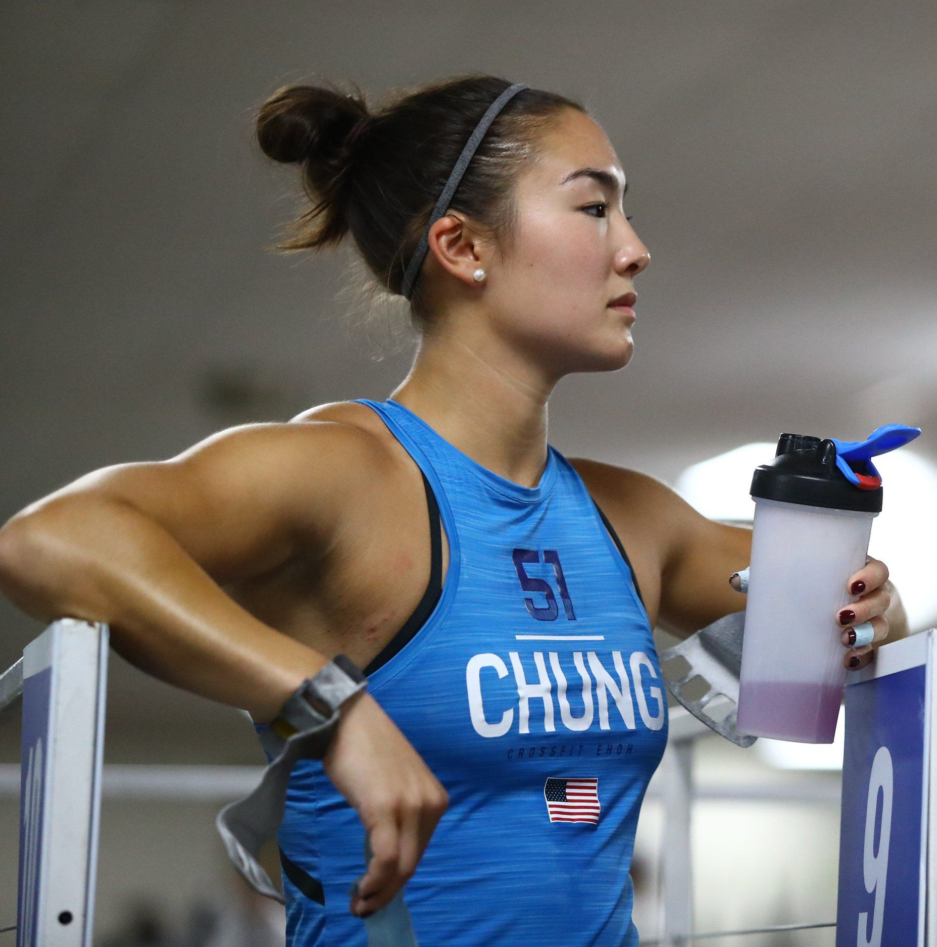 Steph Chung 2018 CrossFit Games, 35th Place Athletic