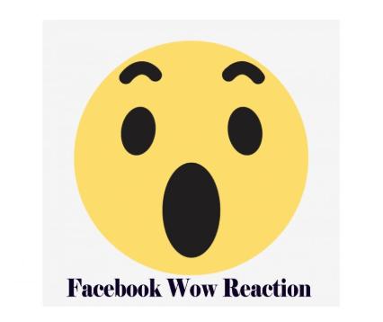 Facebook Wow Reaction Facebook Emojis Facebook Emoticons Facebook Emoticons How To Use Facebook Emoticon