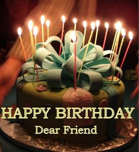 Happy Birthday Dear Friend Wishes Quotes Images Pictures