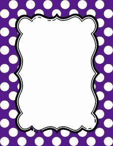 free polka dot border clipart labels name tags pinterest rh pinterest com red polka dot border clip art free