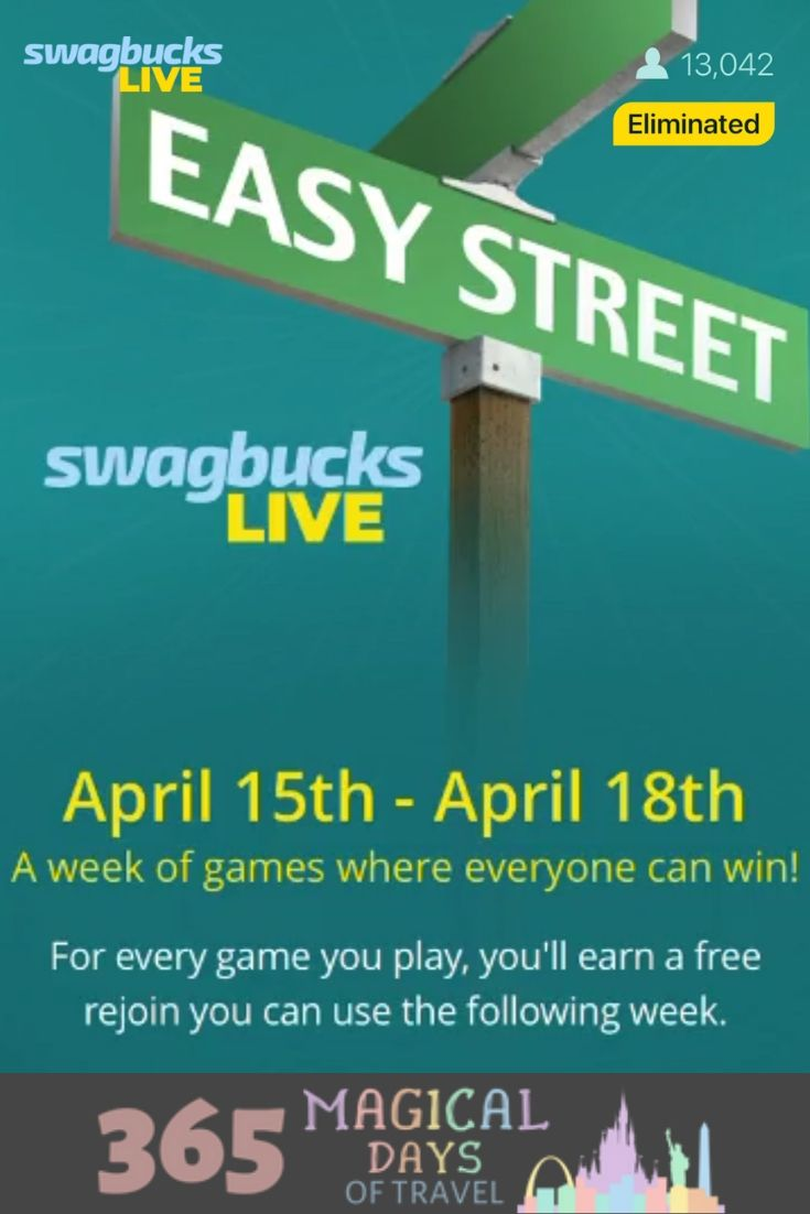 Download The Swagbucks Live App And Play This Week April 15 18