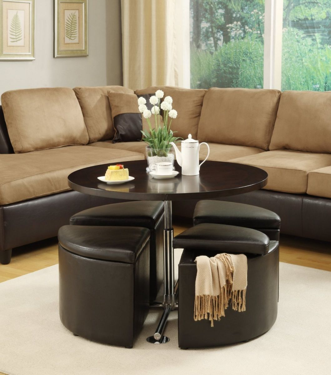 Furniture Amazing Round Black Coffee Table Living Room Design Ideas Plus Comfortable Two Tones Sofa Also Mini Pot Beautify Your Living Roo Stool Storage Ebay [ 1200 x 1060 Pixel ]