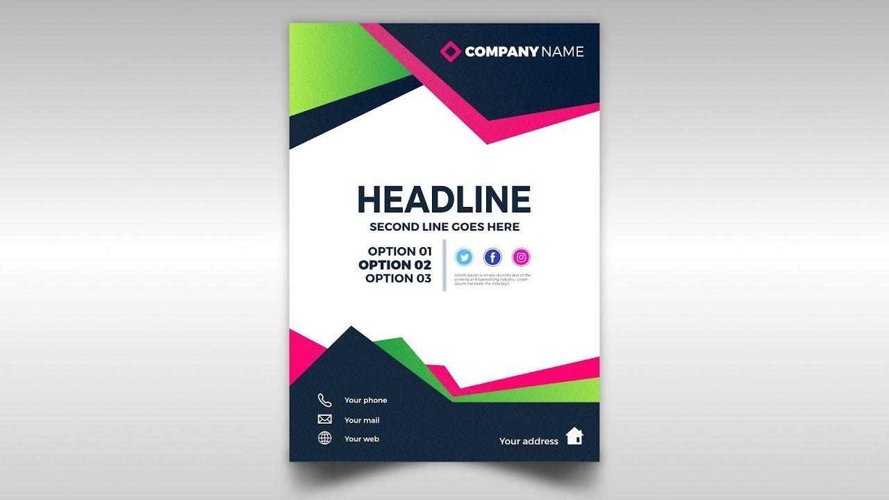Abstract Brochure Design Template Free Download Affinity Designer 1 7 Brochure Design Brochure Design Template Business Brochure Design