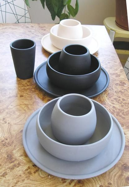 Perfect for a quick casual lunch or a formal dinner party. We make our & Matte Porcelain USA Made Dinnerware Set | Formal dinner Porcelain ...