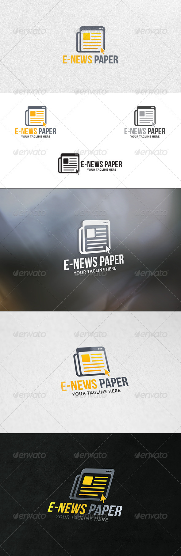 ENews Paper Logo Template Logo Templates Template And Logos - E news template