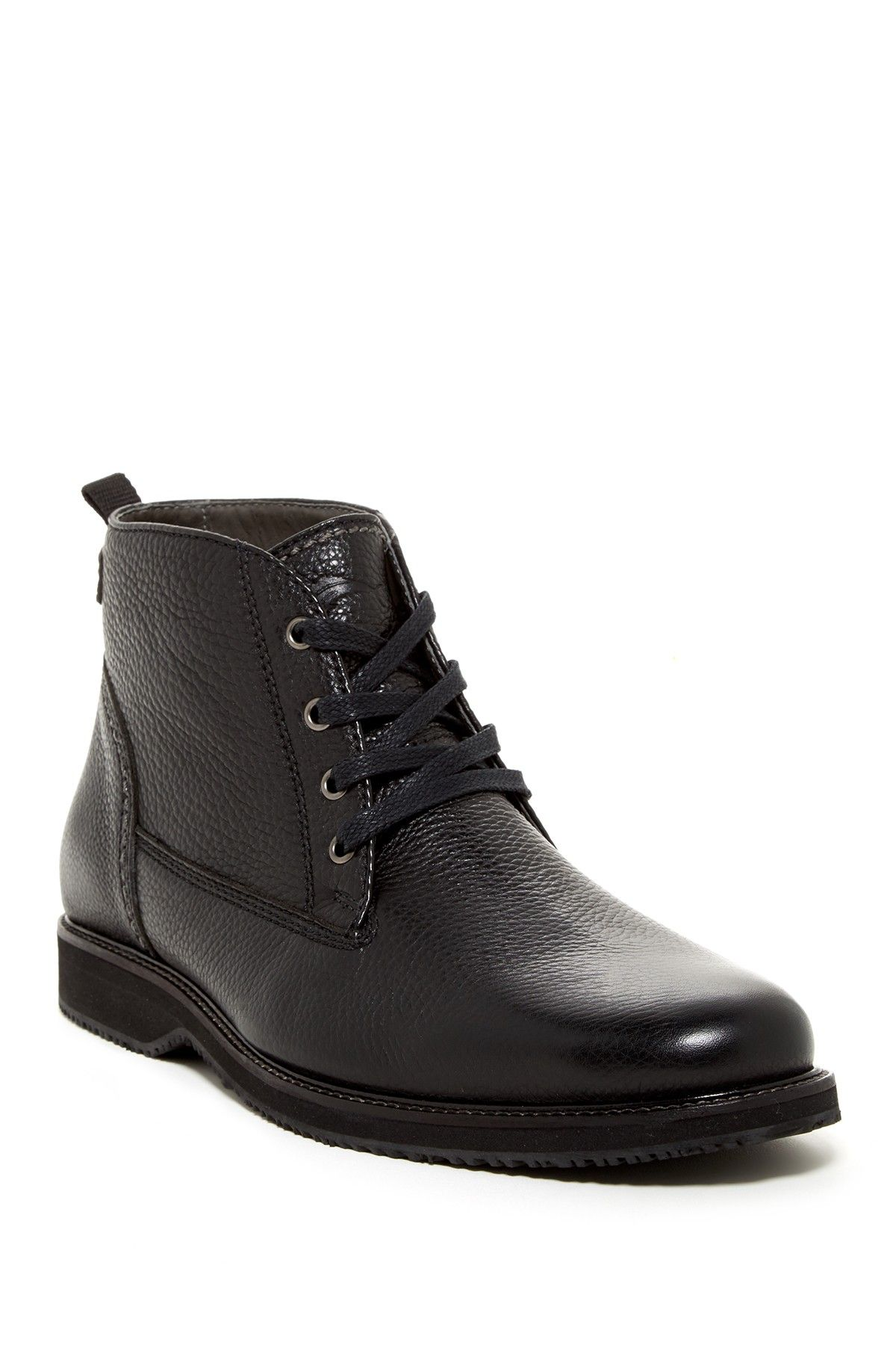 Tommy bahama · Black leather chukka boot for men.