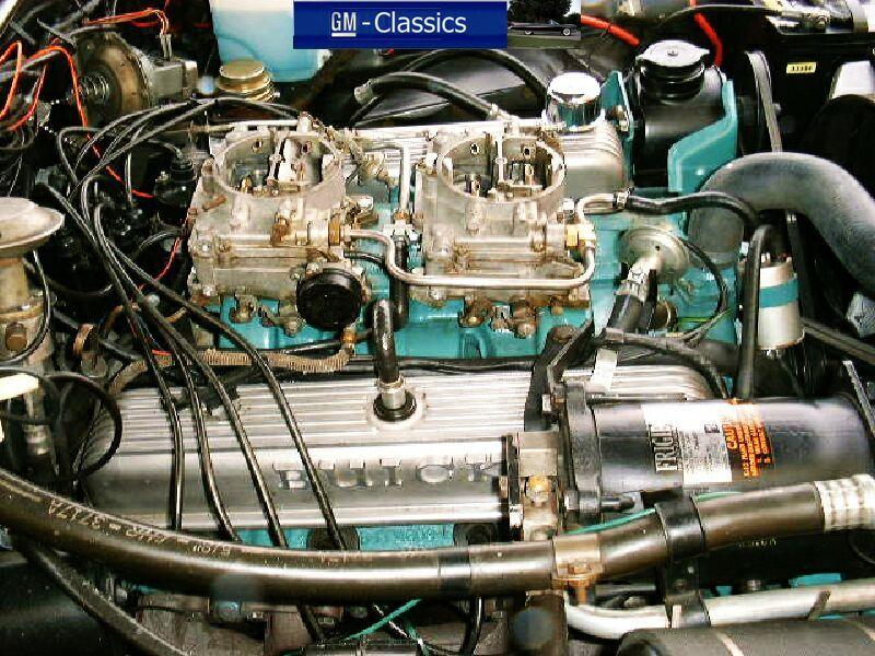 The Famous Buick Nailhead Wildcat Dual Quad Gran Sport