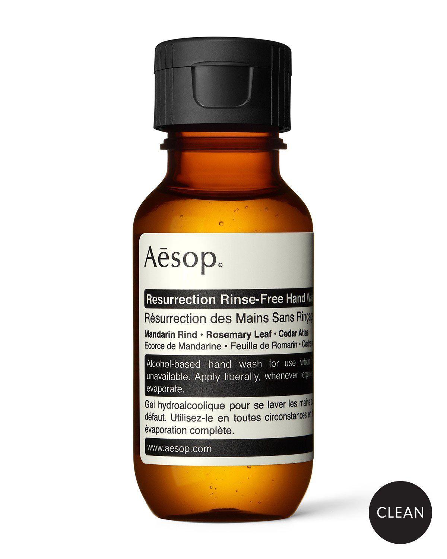 Aesop 1 7 Oz Resurrection Rinse Free Hand Wash In 2020 Aesop