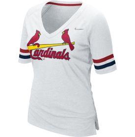 Nike Women s St. Louis Cardinals Fan Home White Half Sleeve T-Shirt -  Dick s Sporting Goods 2c758b2c8