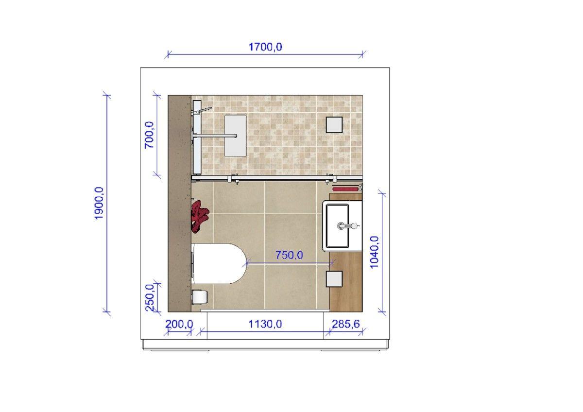 Badezimmerplanung 3D   Kleines bad grundriss, Badezimmer klein, Badgestaltung