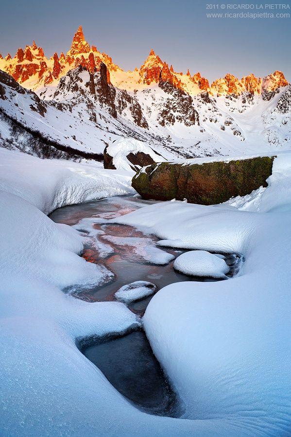 Winter sunrise by Ricardo La Piettra | www.ricardolapiettra.com on 500px
