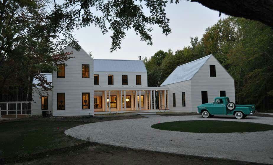 Modern White Farmhouse