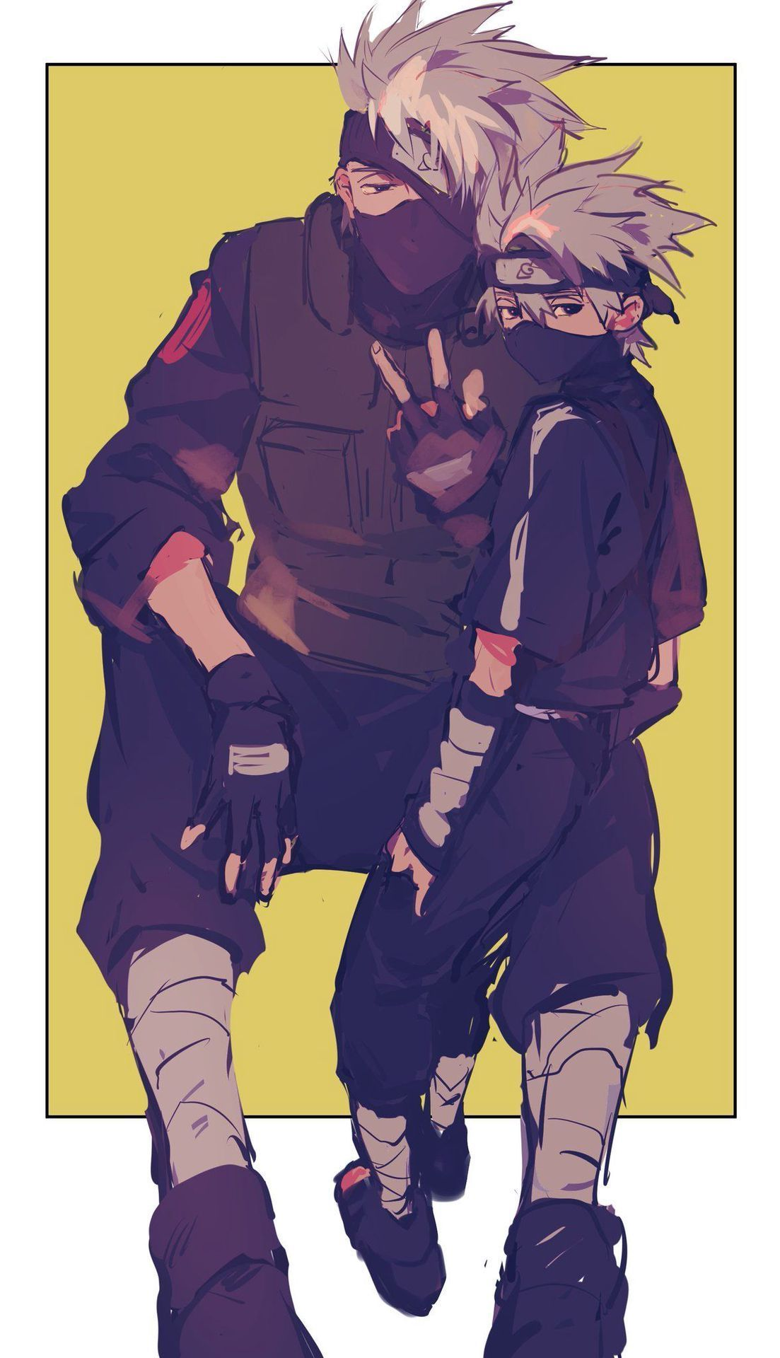 Photo of Official Kakashi Cult – I have over 90 Kakashi pictures on my phone 🙃🙃🙃 Part Two