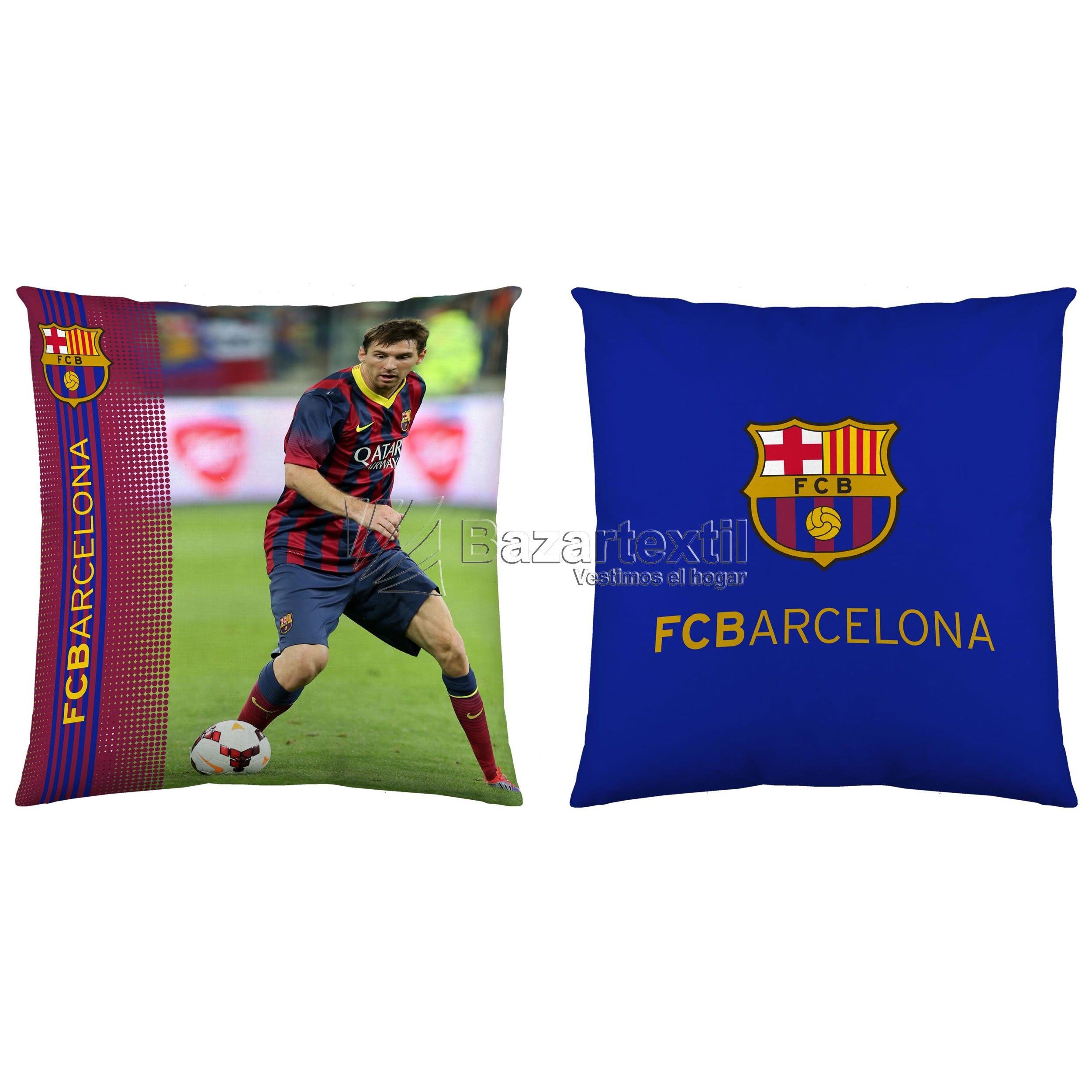 Cojines Messi FC Barcelona   Bazartextil.  F.C. Barcelona 2015