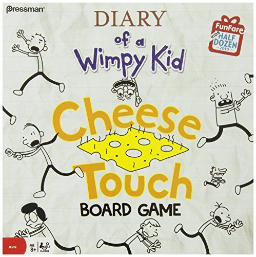 Diary Of A Wimpy Kid The Cheese Touch Game Diary Of A Wimpy Kid Http Www Amazon Com Dp B0038o6yri Ref Cm Sw Wimpy Kid Board Games For Kids Kids Book Series