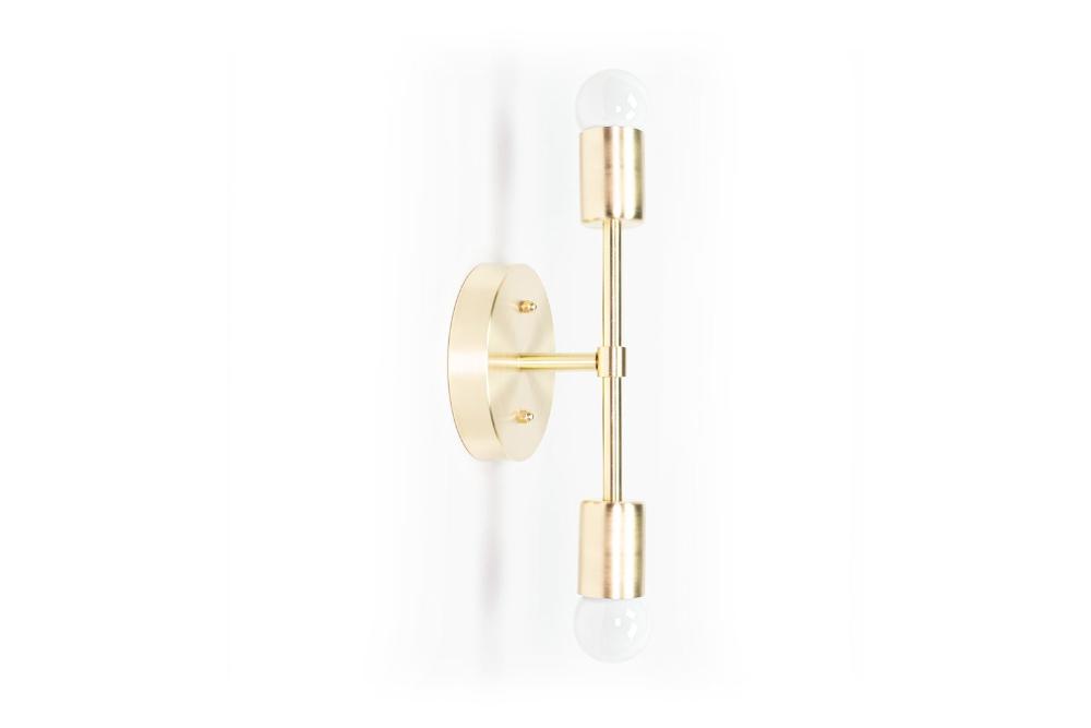 Photo of Gold Wall Sconce – Brass Wall Lamp – Modern Vanity Lighting – Industrial Light – Bathroom Fixture
