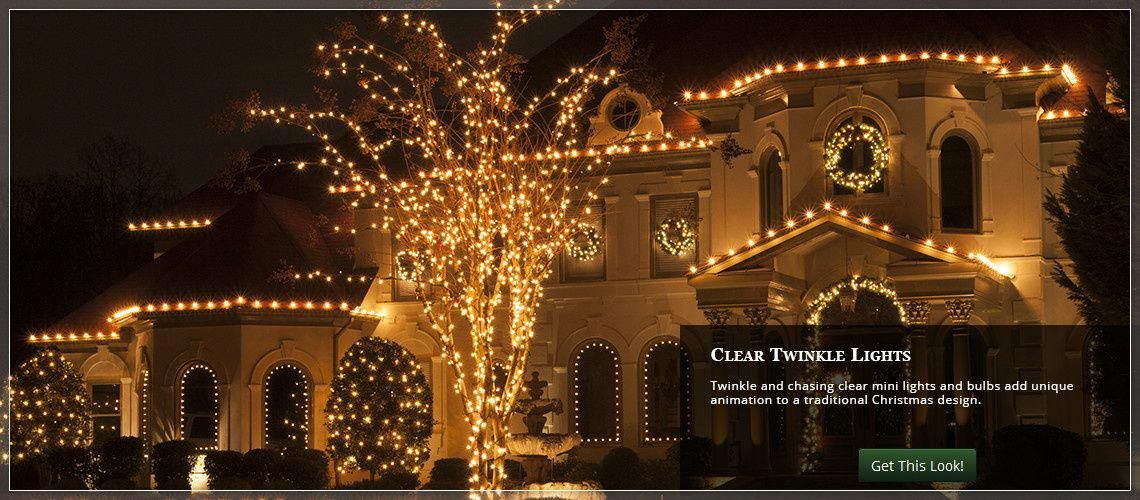 twinkle Christmas lights for the roof #christmaslightsoutdoors - Twinkle Christmas Lights For The Roof #christmaslightsoutdoors