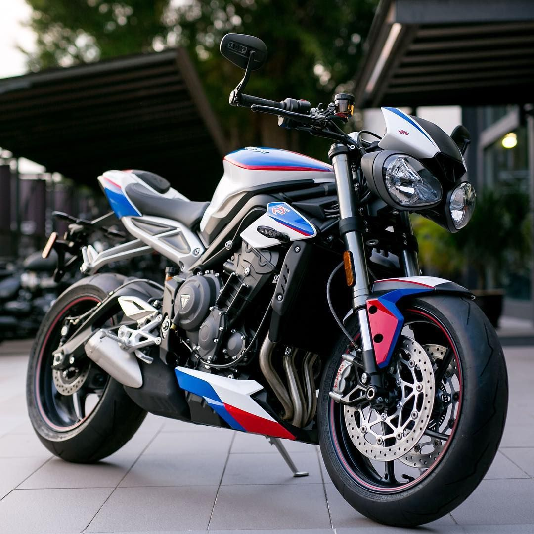 Limited Edition Street Triple Rs Liqui Moly Tri Colour Triumph Motorcycles Triumph Triumph Street Triple