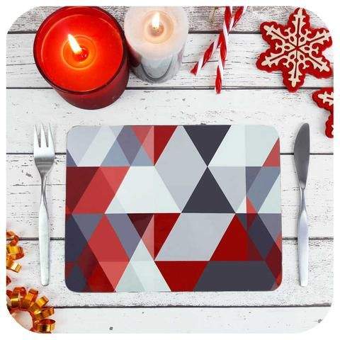Scandi Christmas Collection Scandi Christmas Stylish Table Decor Christmas Placemats