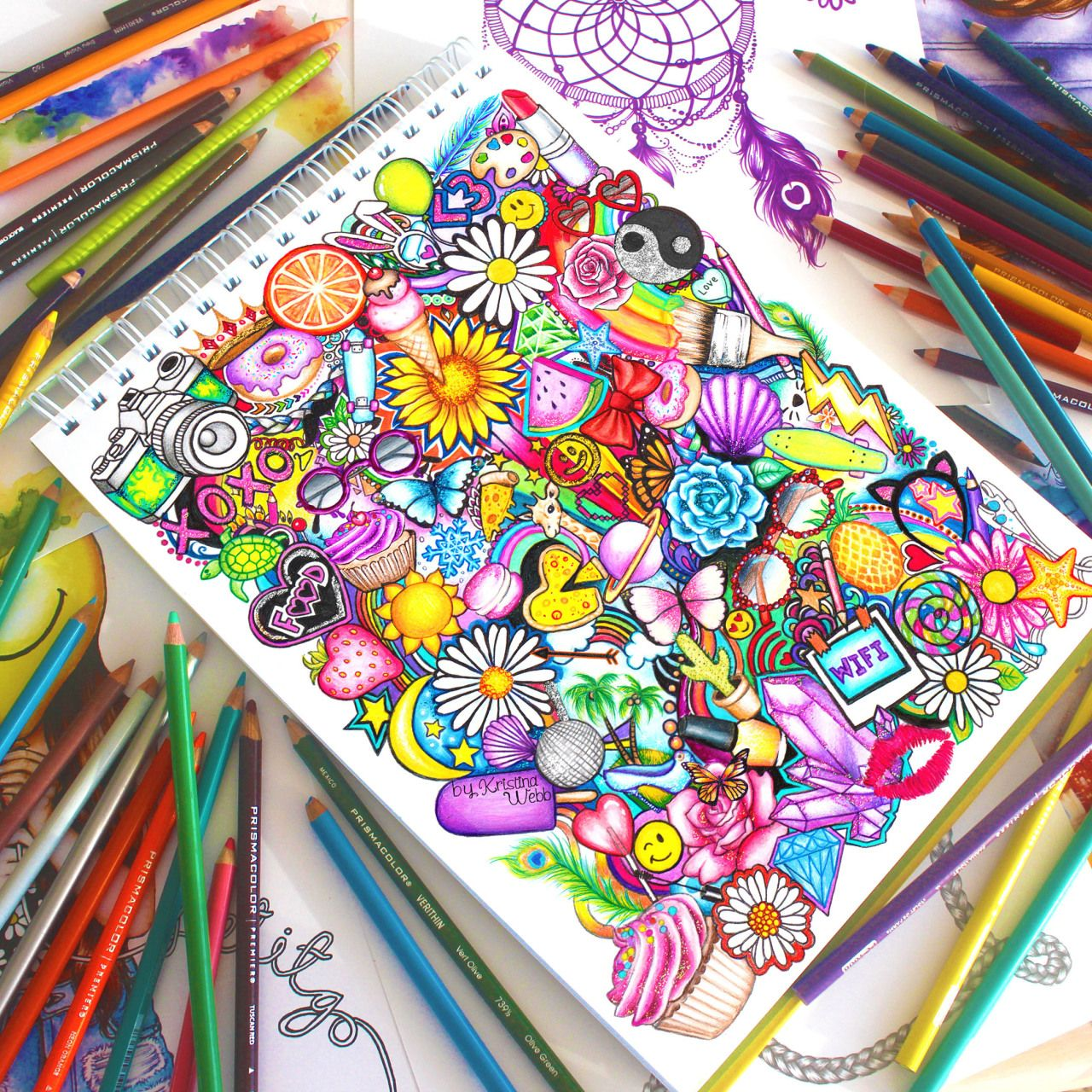 40 Creative And Simple Color Pencil Drawings Ideas Drawings Owls Drawing Cool Drawings