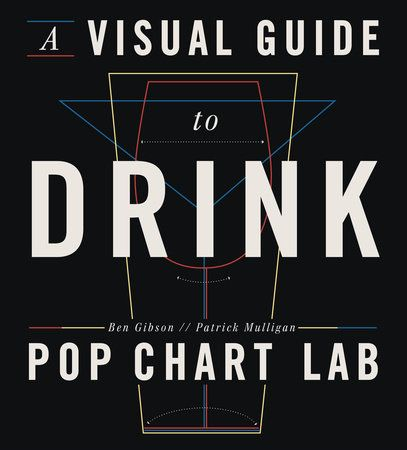 A VISUAL GUIDE TO DRINK by Ben Gibson & Patrick Mulligan -- An imbiber's delight and the first book from the meticulous minds at Pop Chart Lab.
