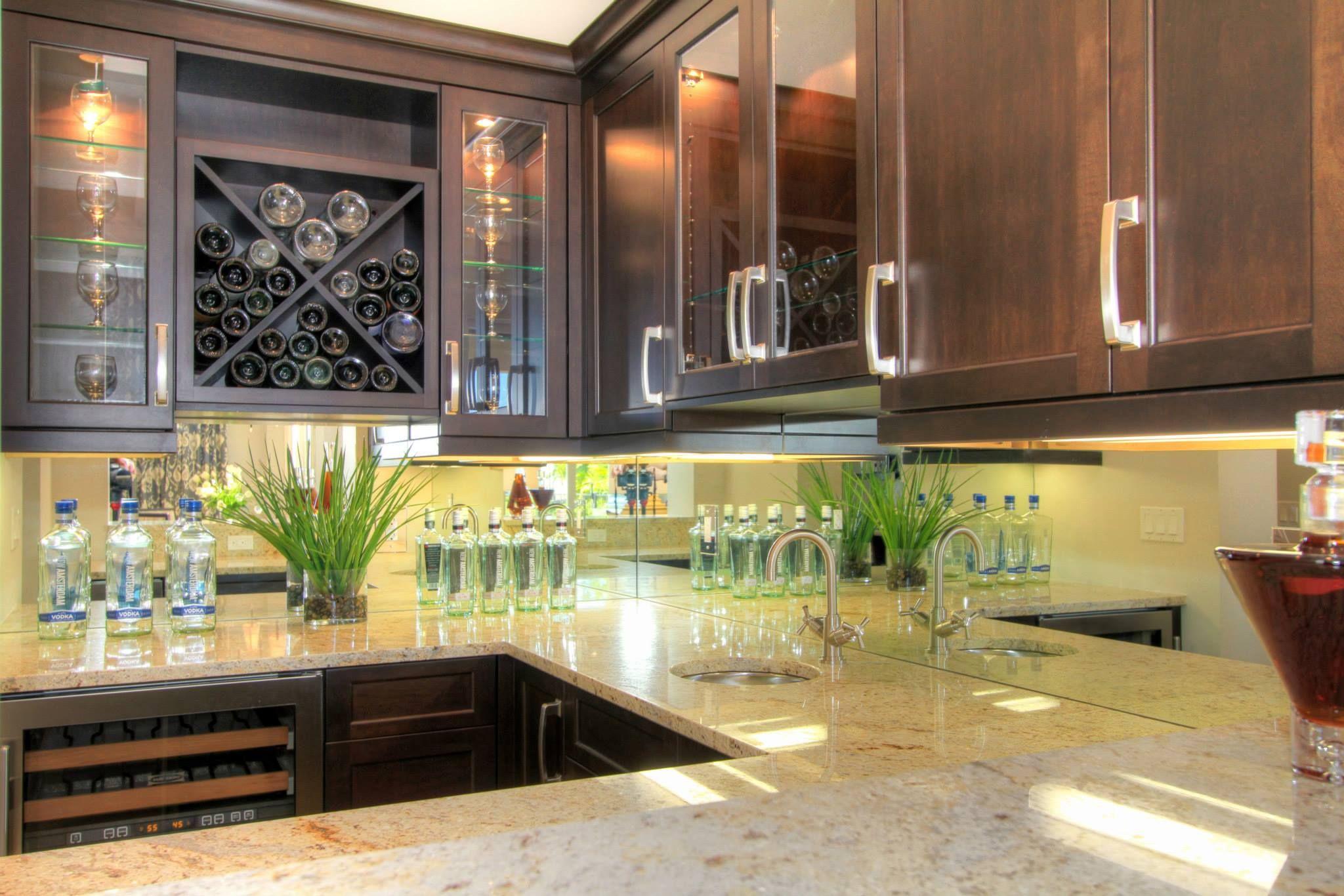 Mirror Glass Backsplash Ideas For Your Kitchen We Also Do