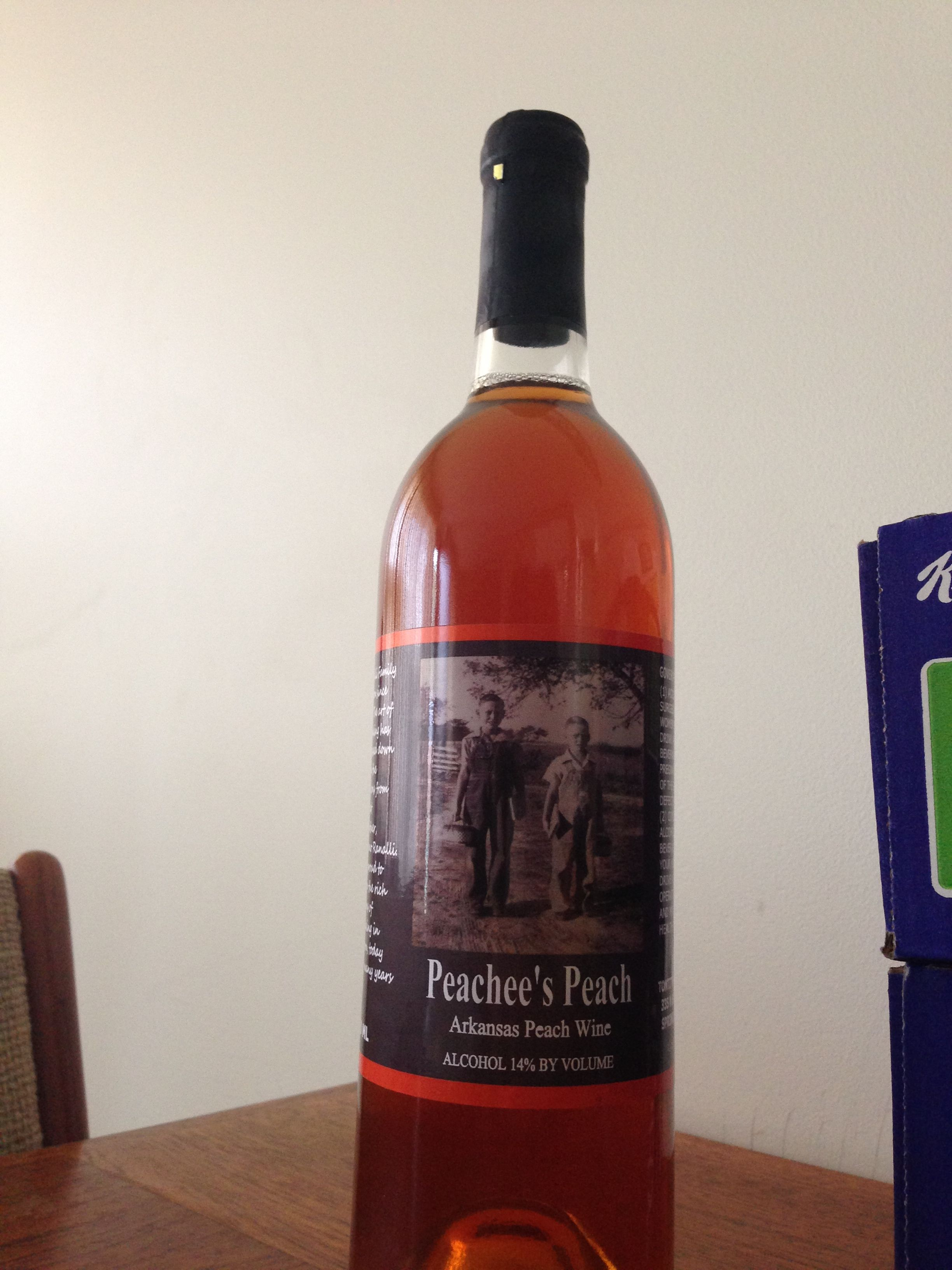 Tontitown Winery Peachee S Peach Great Summer Wine Great Winery Springdale Arkansas Peach Wine Wine Bottle Wine