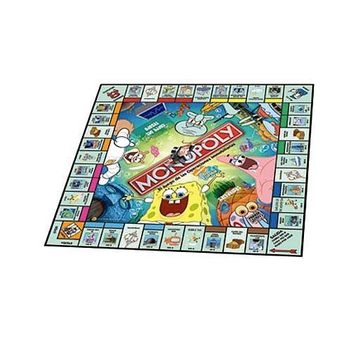 Juego Monopoly Bob Esponja  Juegos de Mesa y de Tablero