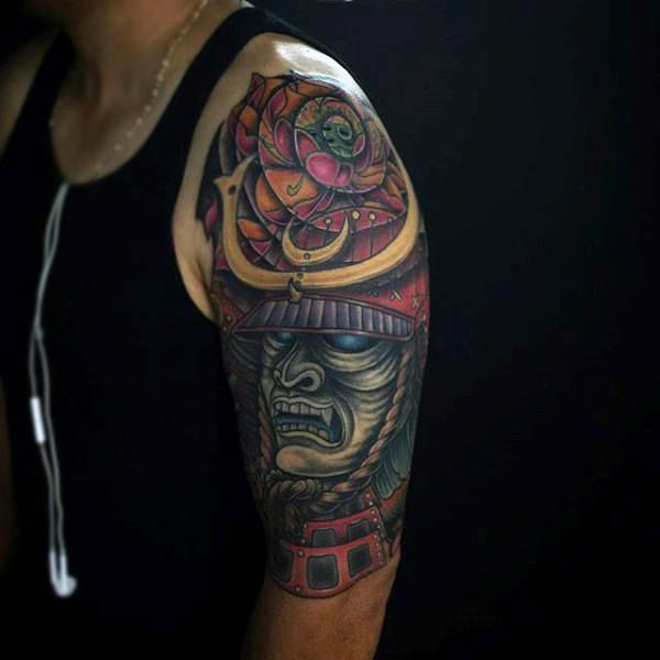 Top 103 Samurai Mask Tattoo Ideas 2020 Inspiration Guide