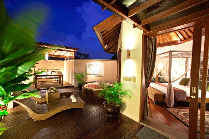 One Bedroom Jacuzzi Suite and Private Pool Villa at Kanishka Villas Bali