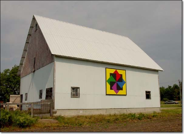 The Barn Quilts of Sac County Iowa   Barn quilts, Painted ...