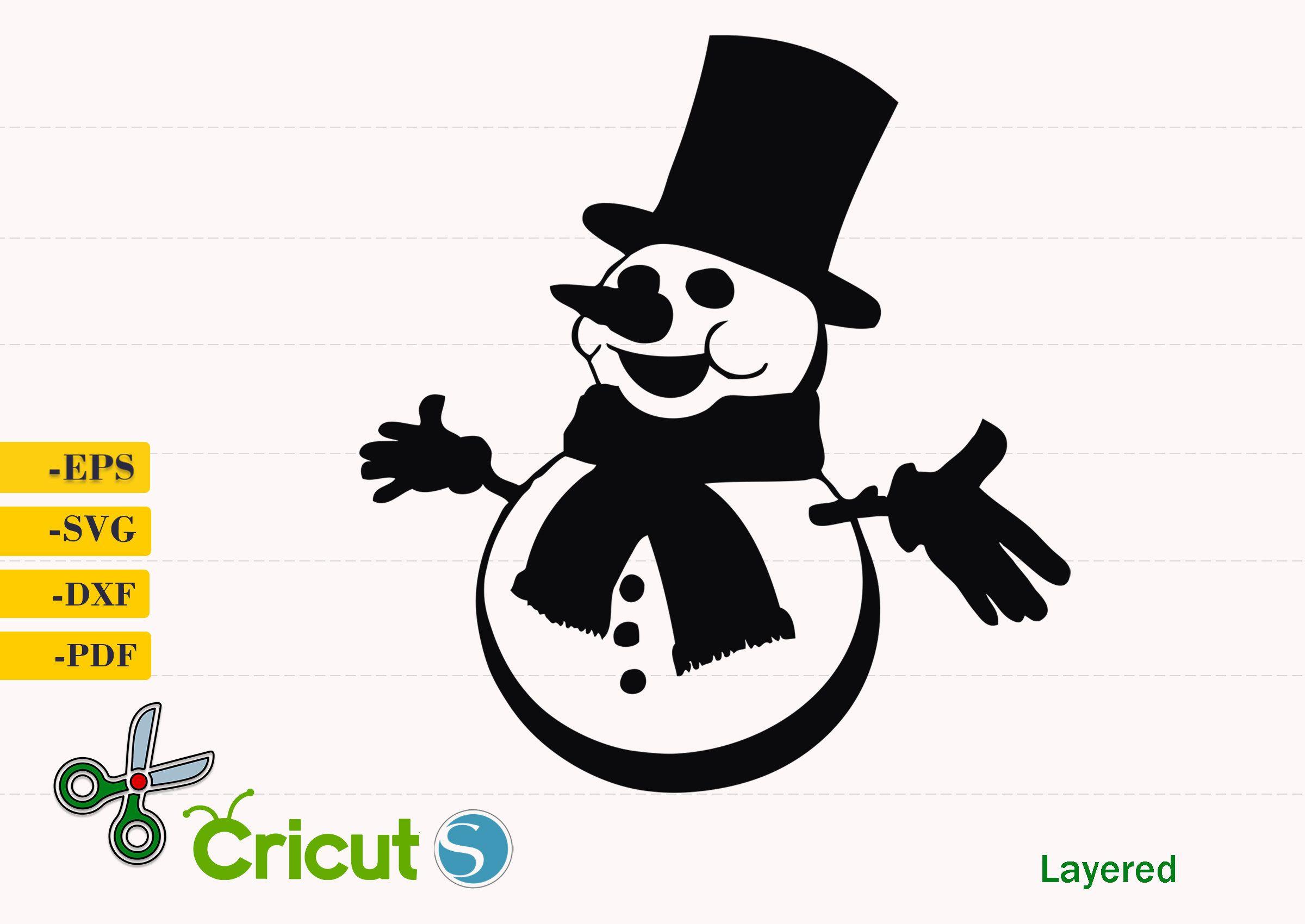 11++ Snowman Clipart Silhouette