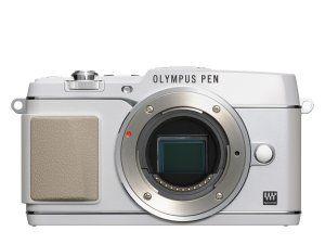 Olympus PEN E-P5 valkoinen, runko