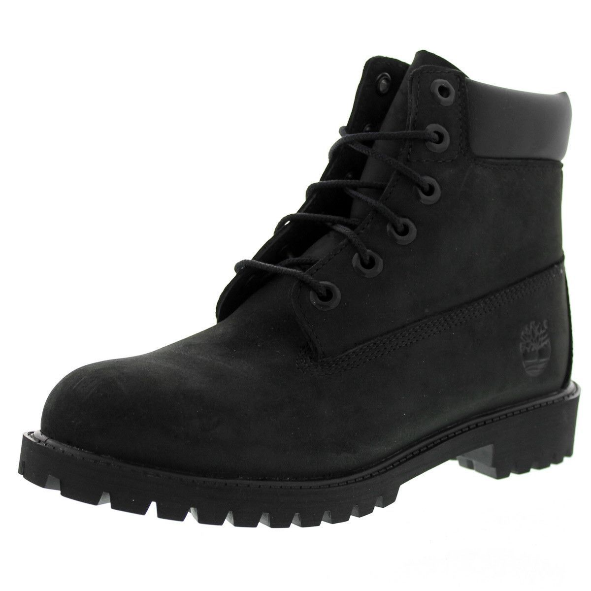 8926d89e582f Timberland - Kids  6 Inch Premium Waterproof Boot (Big Kid) - Black Nubuck