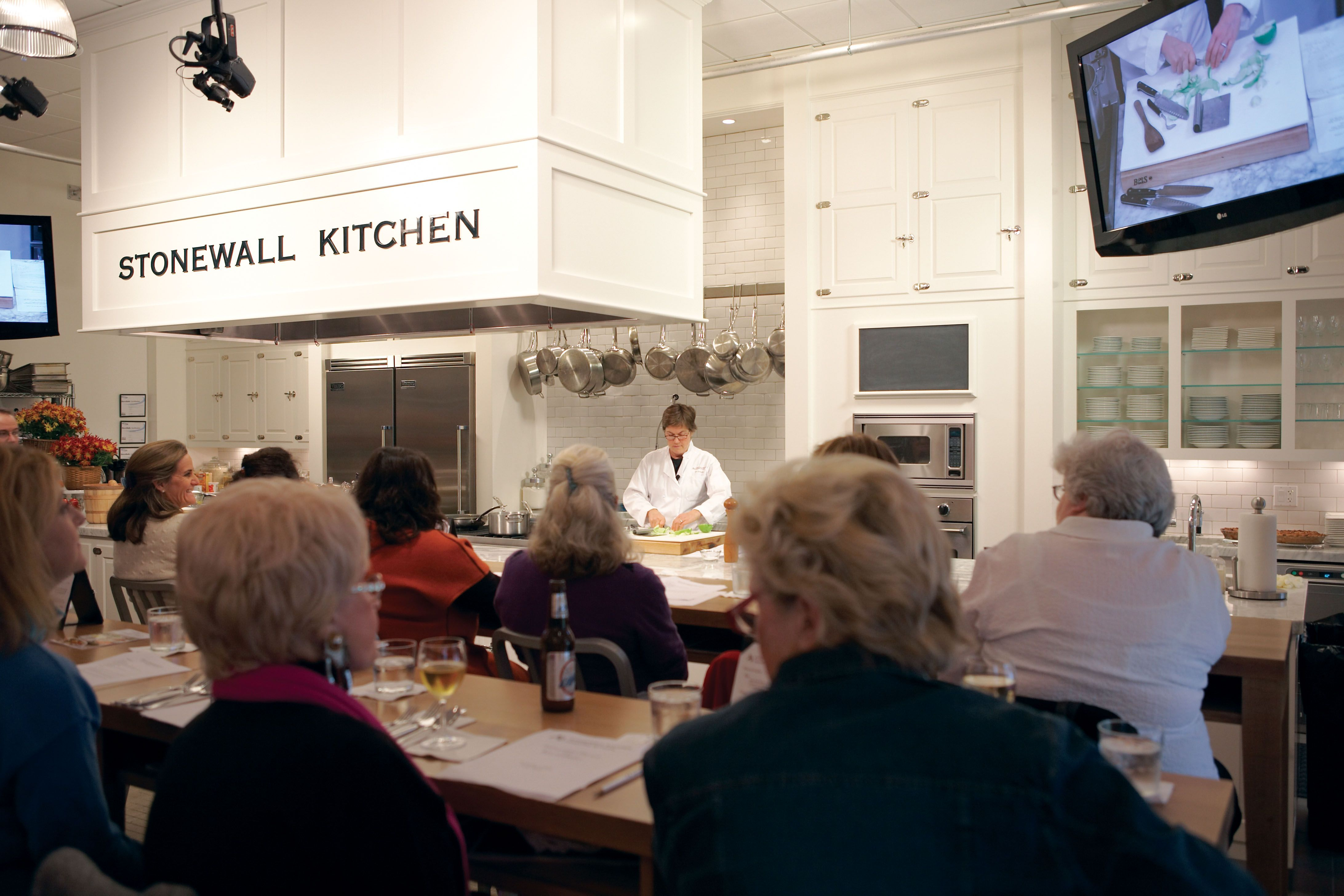 at the stonewall kitchen cooking school in york maine classes