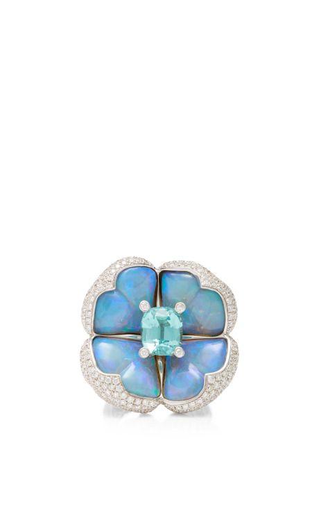 885648fdd Miss Minty Ii | We Love Opals | Opal jewelry, Rings, Cocktail rings