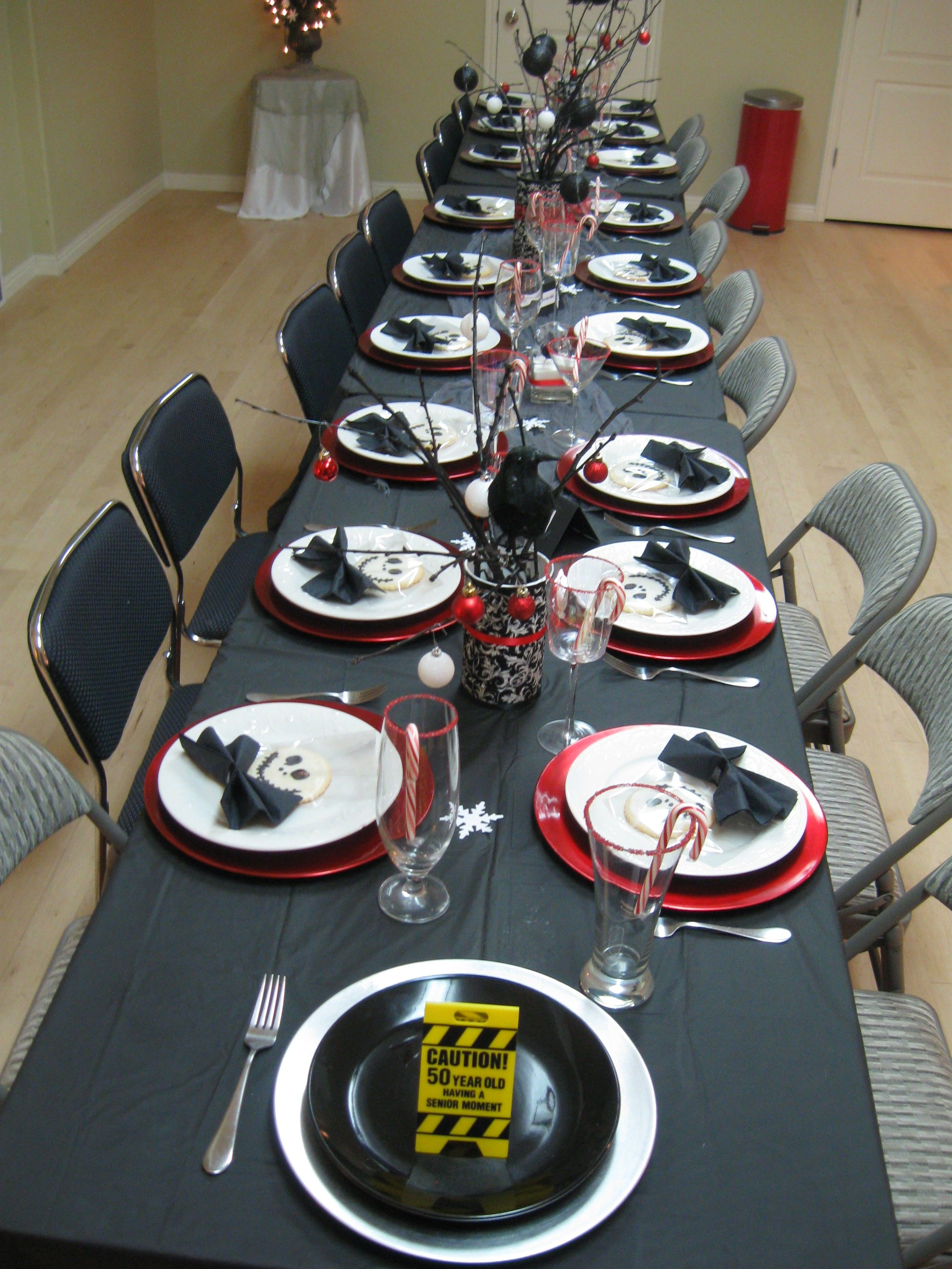 Senior Christmas Party Ideas Part - 22: Astounding Christmas Party Themes Pictures Decoration Inspirations:  Nightmare Before Christmas Party