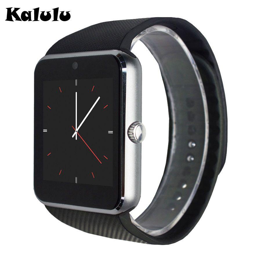 Gt08 Smart Watch Unterstutzung Sim Karte Uhr Sync Notifier Bluetooth Konnektivitat Android Telefon Smartwatch Legierung Uhr Smart Watch Samsung Android Phones Smart Watch Android