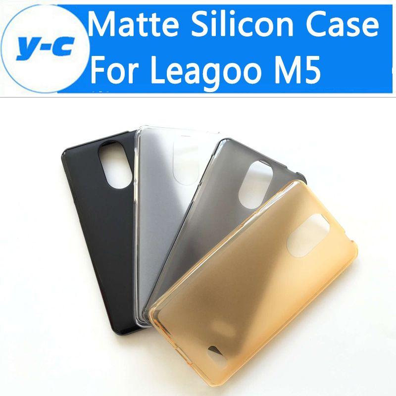 Leagoo m5 case hohe qualität ultradünne antiklopf matte tpu silicon case abdeckung für leagoo m5 smartphone