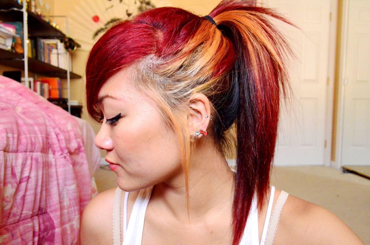 Brunette Purple Hair 20 Notes 2 Years Ago Hair Color For Black Hair Black Hair Dye Hair Color Auburn