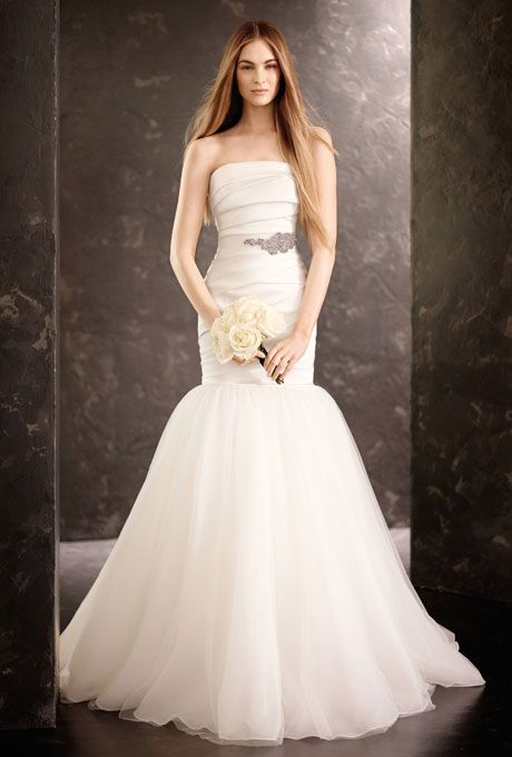 Mermaid Style Wedding Dresses Vera Wang : Vera wang wedding dresses and mermaid gown